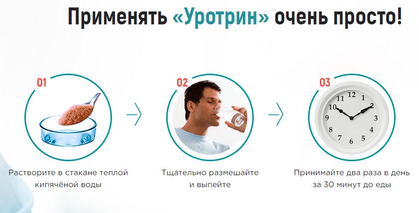 применение лекарственного уротрин